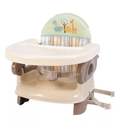 Summer Infant Deluxe Comfort Booster Baby Seat Toddler High Chair Adjustable NEW