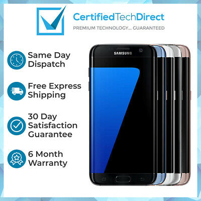 Samsung Galaxy S7 Edge G935F 32GB 64GB 128GB Refurbished 6 Month Warranty