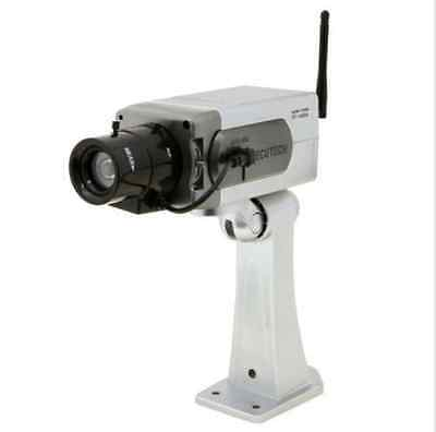 New Dummy Fake Home Surveillance Security Camera Infrared W/ Antenna Motion Cam