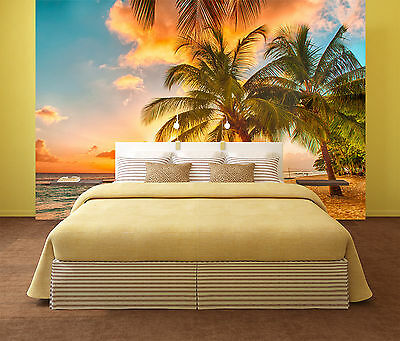 Details about  /3D Coconut Trees And Corridor 35 Wall Paper Wall Print Decal Wall AJ Wall Paper
