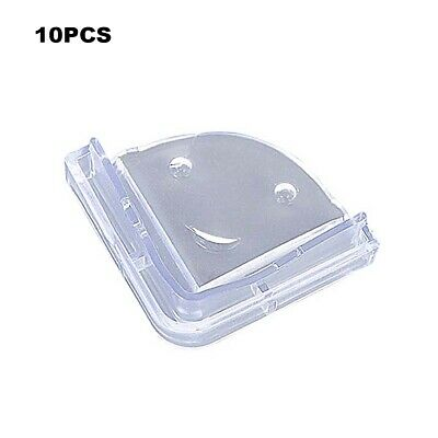 10X Clear Table Corner Protectors Baby Child Soft Safety Desk Edge Cover