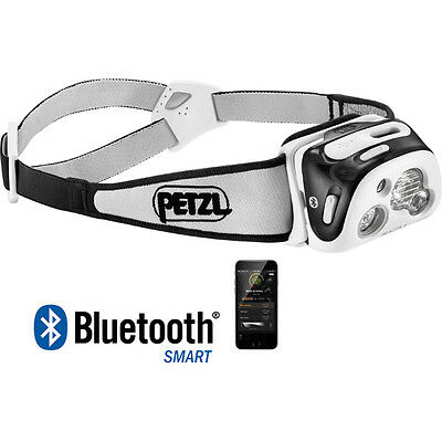 Petzl Reactik+ 300 Lumens Black Fishing Camping Head Lamp Torch
