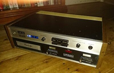 VINTAGE AKAI CR-80D 8 Track Player Deck Made in Japan