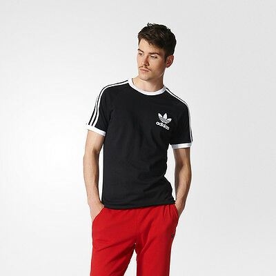 NUEVOS HOMBRES Adidas Originals California Large 19295 Trefoil Tee Shirt ~ HOMBRES Large fd11704 - hotlink.pw