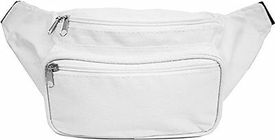 SoJourner Bags Solid Color Fanny Pack (white)