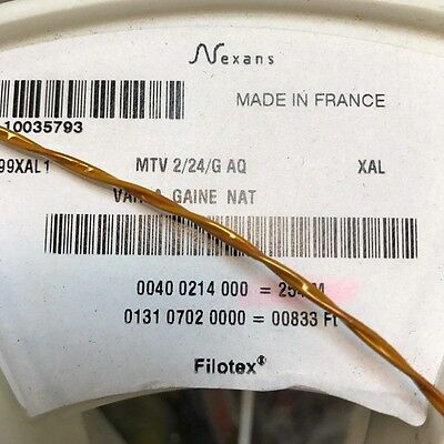 Mtv 2/24/g 24Awg Space Quality Cable Nexans 1 Meter