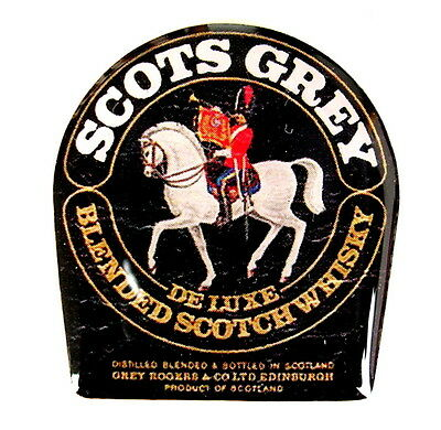 WHISKY / WHISKEY Pin / Pins - SCOTS GREY / BLENDED SCOTCH WHISKY [3911]