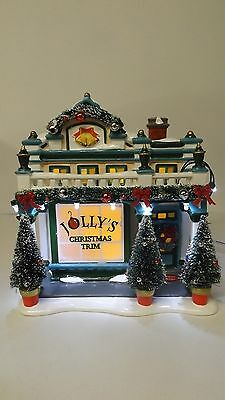 Dept 56 Snow Village The Sounds Of Christmas Shop 4049208 Musical Mint in Box