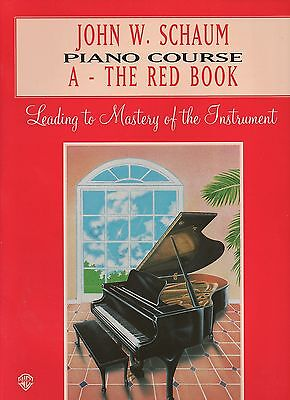John W Schaum Piano Course A - The Red Book -  Learn to Play Teaching Beginners