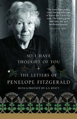 So I Have Thought of You by Penelope Fitzgerald New Paperback Book