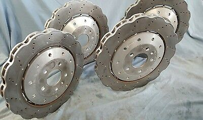 2014  Audi R8 Front and rear  OEM Brake Disc   8100 miles