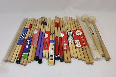 Assorted Vic Firth / Pro Mark / Vater Drum Stick lot - 13 pairs of sticks! NICE!