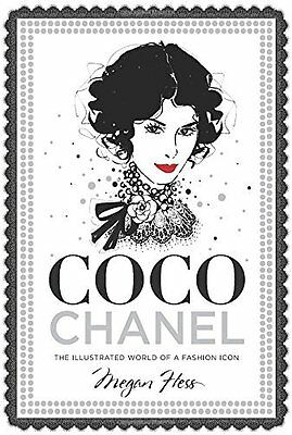 Coco Chanel by Megan Hess New Hardback Book