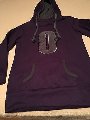 Vintage Death Skateboards fleece Purple/Gray Hoodie XXXL youth/unisex FREE SHIP