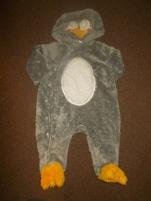 baby boys   hooded onesie/snowsuit  3-6 months excellent condition