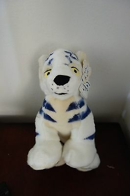 "1 Neopets 10"" Kougra White New With Tag 2002 Limited Edition"