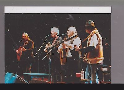 8 X10 Color Photo Of-Crosby ..stills..and Nash Performing