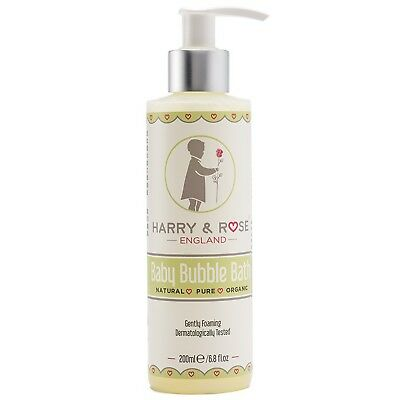 HARRY & ROSE Baby Skincare Bubble Bath 200ml for women