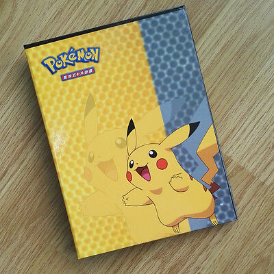 New Pokemon Pikachu Cards Folder  Binder Trading Card Protection Collector