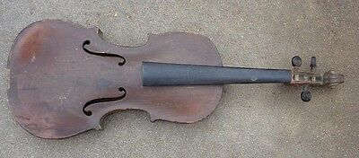 antique American full size 4/4 violin for set up