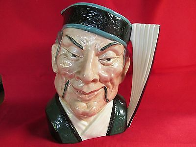 Royal Doulton The Mikado Character Jug D6501 Production from 1959 - 1969