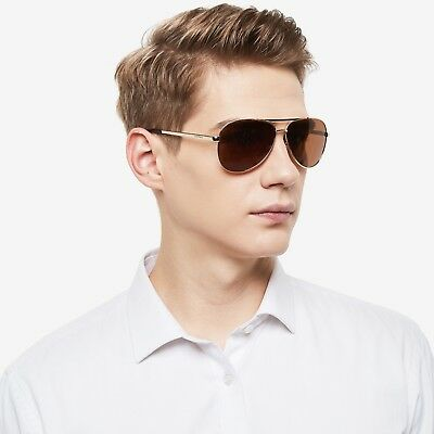 Polarized Aviator Sunglasses For Men Women Metal Driving Eyewear Glasses Box