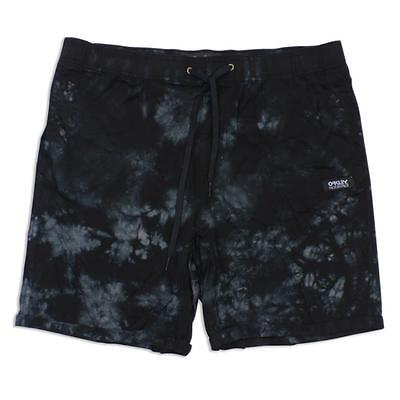 Oakley FP Snap Black Size 32 M Mens Cotton Casual Board Shorts Walkshorts