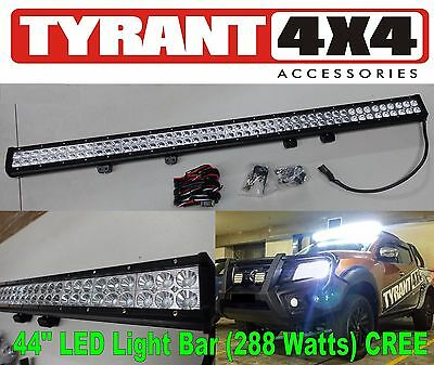 40 inch Light Bar 288w LED Driving Lights OSRAM Spot Flood Beam