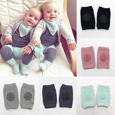 Cute Cushion Baby Knee Pads Toddler Safety Crawling Elbow Protector Infant Kid