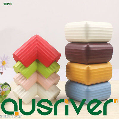 10PCS Soft Foam Children Baby Safety Cushion Protector Guard of Table Corner