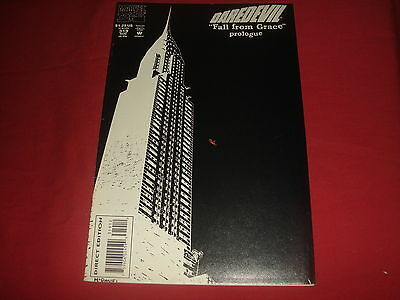 DAREDEVIL #319 Fall From Grace Prologue  2nd Print Marvel Comics 1993 NM-