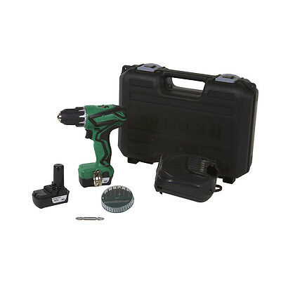 Hitachi Cordless Drill 12 V Lithium Ion 3/8-in Li-Ion Battery Hard Case Tool New