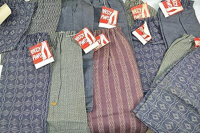 VINTAGE New Lot of 22 Pairs Youth BAGGY PANTS Very UNIQUE Find! asst Sizes 1960s
