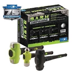 Wilton 11112 B.A.S.H Shop Hammer Kit (3 Piece)