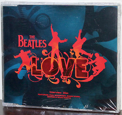 EMI PROMO CD 0946-3-83049-2-0: The BEATLES - Interview Disc for LOVE - 2006 UK