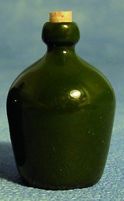 1:12 Scale Ceramic Green Carboy Bottle Tumdee Dolls House Miniature Pub 1596