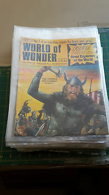 WORLD OF WONDER COMIC 36 issues from No. 1 1970-1971