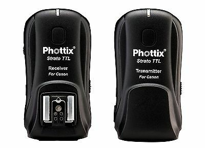 Phottix PH89015 Strato TTL Transmitter/Receiver Trigger Set for Canon (Black)