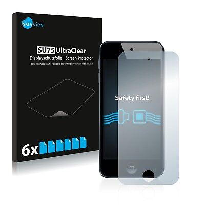 6x Savvies Screen Protector for Apple iPod Touch 6th generation Ultra Clear