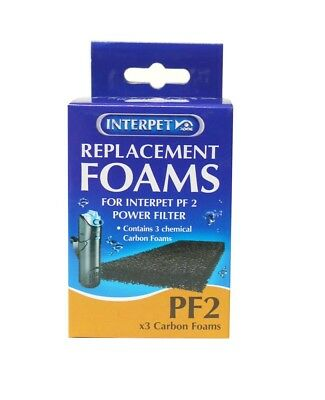 Interpet Replacement Carbon Foam Filter Pads (Size: PF2)