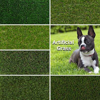 Artificial Grass, Astro Turf Garden Lawn Budget Realistic Luxury Grass CHEAPEST