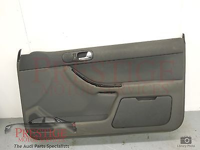 Audi A3 8L 3 Door Front OS Right Door Card Charcoal Grey