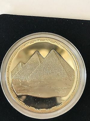 1993 Egypt 5 Pound Pyramid Silver Coin