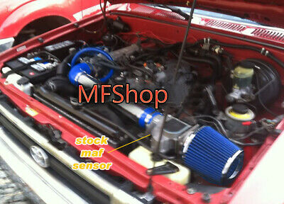 Blue For 1989-1994 Toyota 4Runner Pickup 2.4L L4 Air Intake Kit + Filter