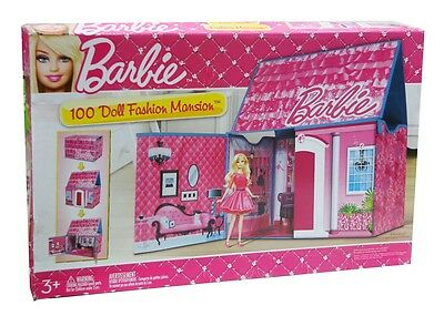 Barbie Fashion Mansion Spielset Barbiehaus für 100 Modepuppen Barbie Villa NI86