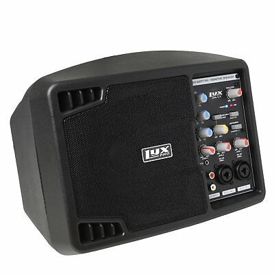 LyxPro SPA5.5 Small PA Speaker System Powerful Compact Active Speaker Monitor