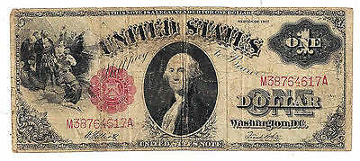 Fr-38 1917 United States of America One Dollar United States Note