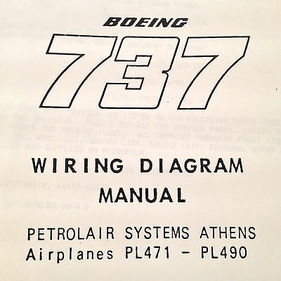 Boeing 737 500 wiring diagram manuals a 5 vol set 33193 boeing 737 pl471 pl490 wiring diagram manuals a 2 vol set cheapraybanclubmaster Choice Image