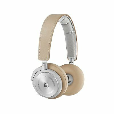 B&O PLAY by Bang & Olufsen Beoplay H8 ANC On-Ear Headphones - Natural Leather