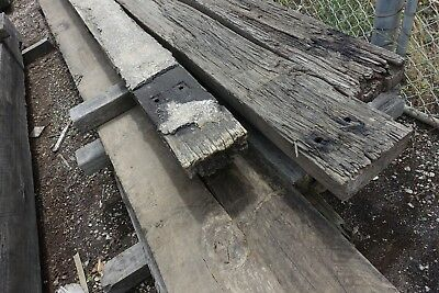 Recycled Bridge Timbers 180x90mm top deck B-grade